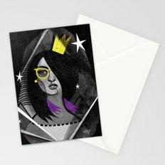 Diamond girl Stationery Cards