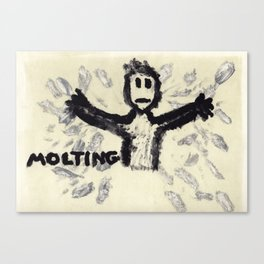 Molting Canvas Print