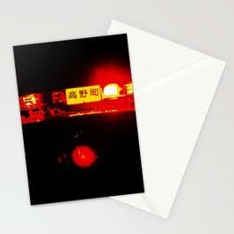 Night lights in Tokyo Stationery Cards