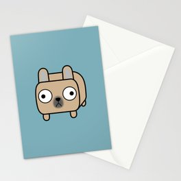 French Bulldog Loaf - Fawn Frenchie Stationery Cards