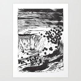Pipes & Reed Art Print