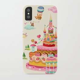 Ice Cream Castles In The Air iPhone Case