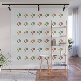 The leaves fall Wall Mural