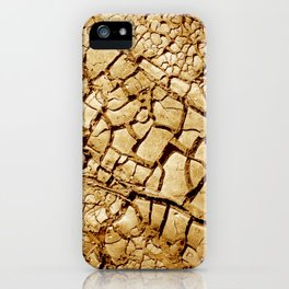 CLOSEUPS - Dry Soil iPhone Case