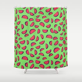 Sandía Shower Curtain