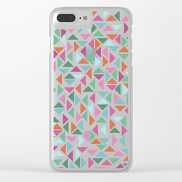 The triangulation of spring Clear iPhone Case
