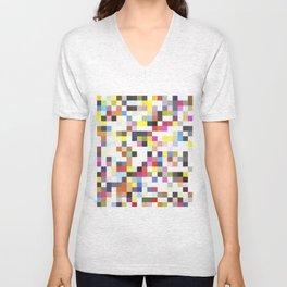 Love Pixel Unisex V-Neck