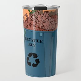 Recycle bin Travel Mug