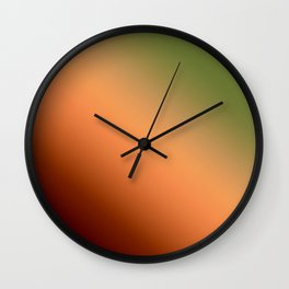 6 Ombre Wall Clock