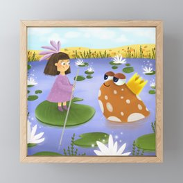 Pond Magic Framed Mini Art Print