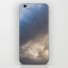 Yellowstone National Park - Sunset storm over the Washburn Range iPhone Skin