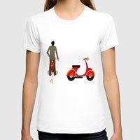 vespa T-shirts featuring VESPA by Joe Pansa