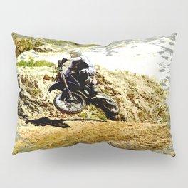 Dirt-bike Racer Pillow Sham
