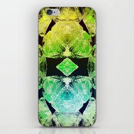 Green Mandala-Heart Chakra iPhone Skin