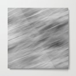 Abstract black and gray background . Metal Print