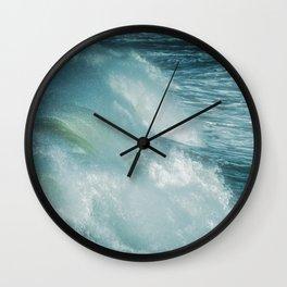 Surf Wall Clock
