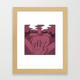 Go down on me... Framed Art Print