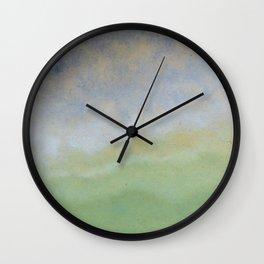 Informal texture three Wall Clock