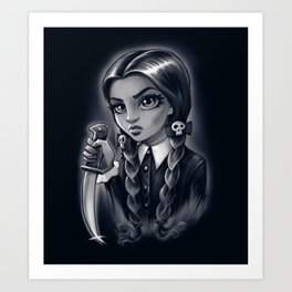 SpokyGrl Art Print