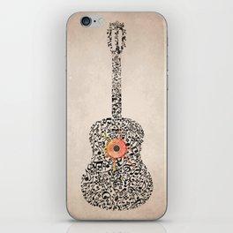 Guitar Notes iPhone Skin