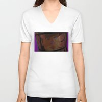2001 V-neck T-shirts featuring 2001: A Space Odessey by CultureCloth