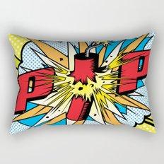 Firecracker POP Art Rectangular Pillow
