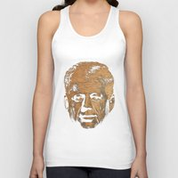 jfk Tank Tops featuring Forever Old | JFK by teokon