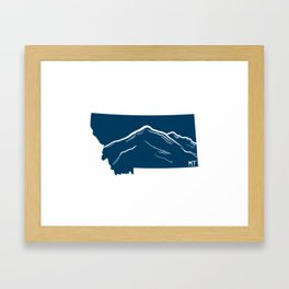 Montana Framed Art Print