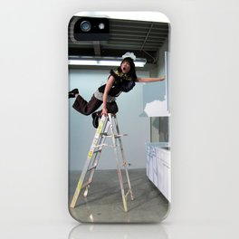 Clown On The Ladder iPhone Case
