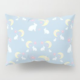 Moon Bunny Pillow Sham