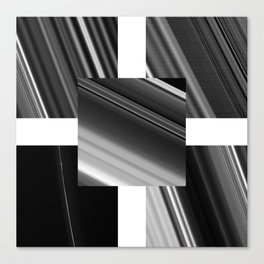Saturn Rings (all) Canvas Print