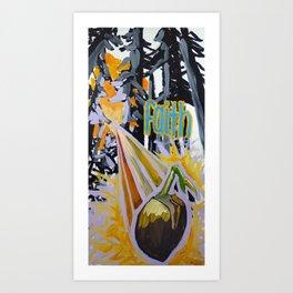 mustard seed Art Print