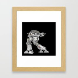 15 seconds to comply Framed Art Print