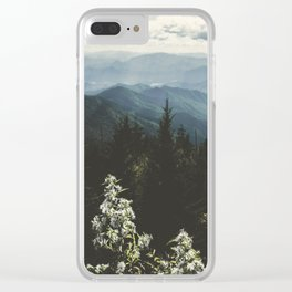 Smoky Mountains - Nature Photography Clear iPhone Case