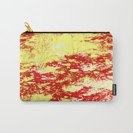 Erduna - Abstract Colorful Retro Tie-Dye Style Pattern Carry-All Pouch