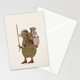 nature bear Stationery Cards