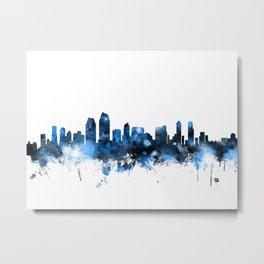 San Diego California Skyline Metal Print