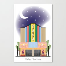 The Last Movie House Canvas Print