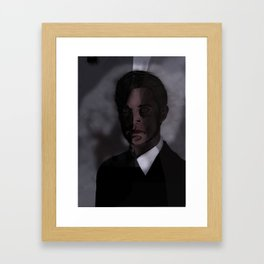 Kyle MacLachlan - Dale Cooper Framed Art Print