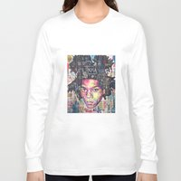 basquiat Long Sleeve T-shirts featuring Basquiat by Makelismos