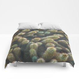 Botanical Gardens Cactus #596 Comforters