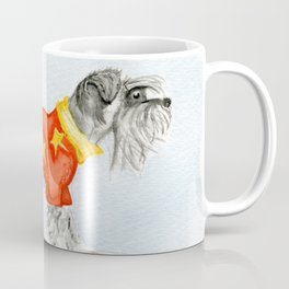 Starry Scruffy Schnauzer Coffee Mug