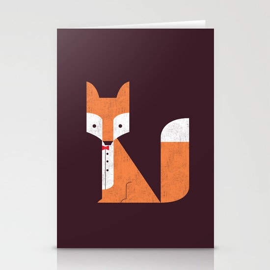 Le Sly Fox Stationery Cards