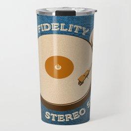 Hi-Fi Blue Travel Mug