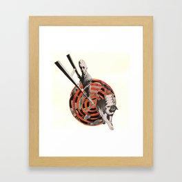 Tricks Framed Art Print