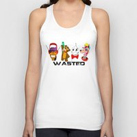 wasted rita Tank Tops featuring WASTED by Indigo Blak