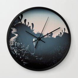 silver balls Wall Clock