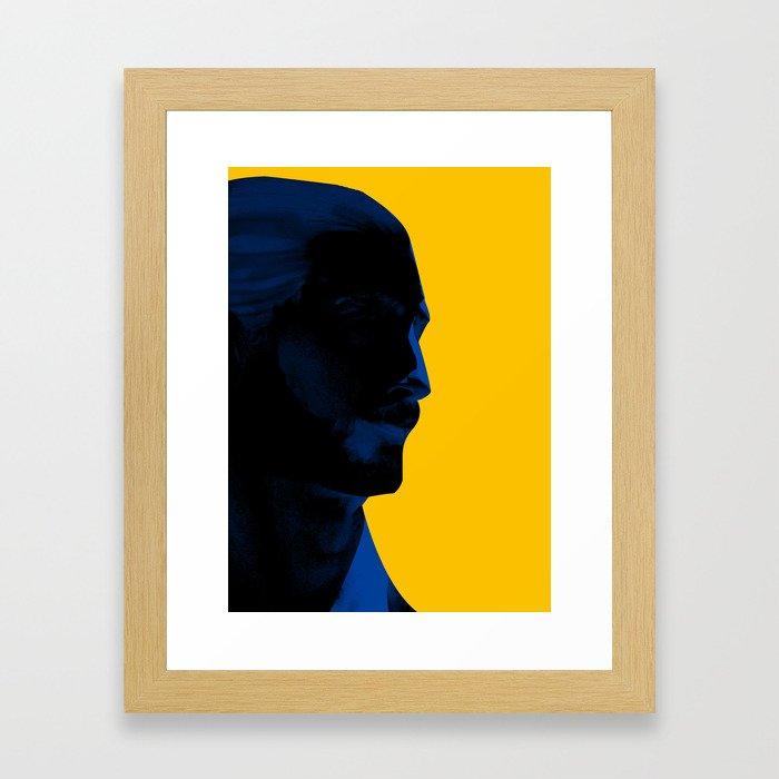 L'homme - electric Framed Art Print