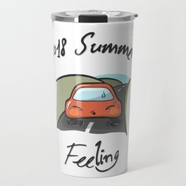 Little Car -  in Extreme Heat Travel Mug
