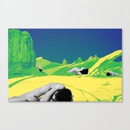 Dream in Blue Canvas Print